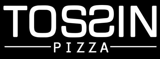 Tossin Pizza logo